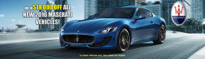 Mike Ward Maserati 2016 Discounts