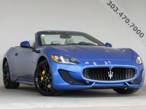 2016 Maserati Gran Turismo Sport Convertible at Mike Ward Maserati