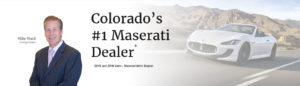 Mike Ward Maserati near Denver Colorado