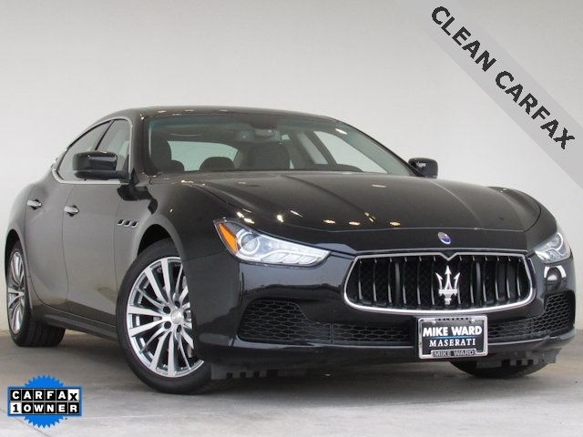 PreOwned 2016 Maserati Ghibli at Mike Ward Maserati