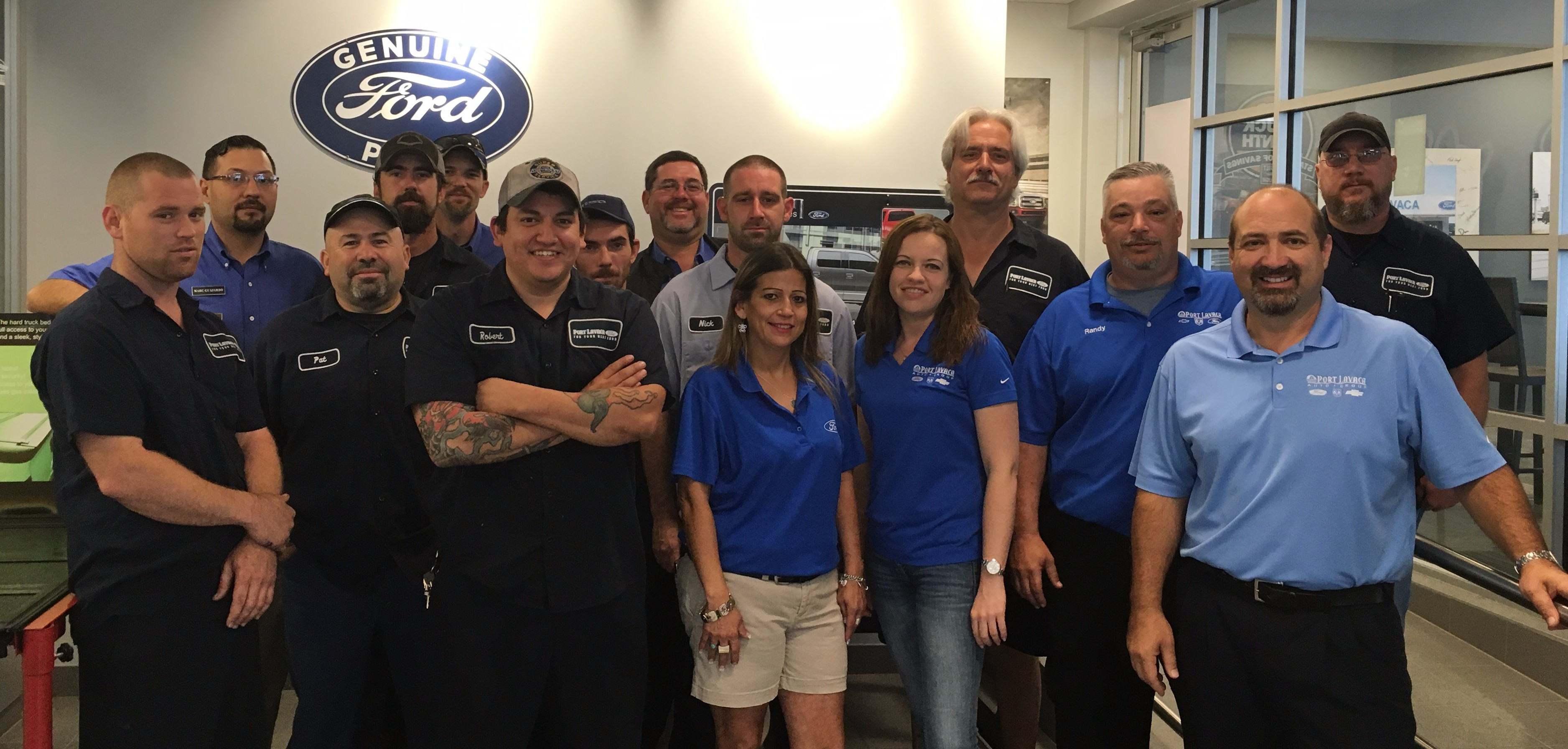 port-lavaca-ford-service-team