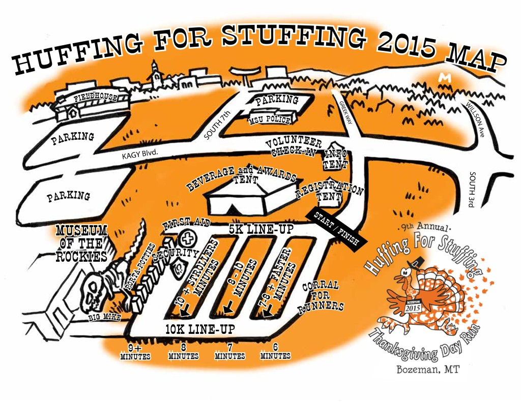 Huffing for Stuffing Map