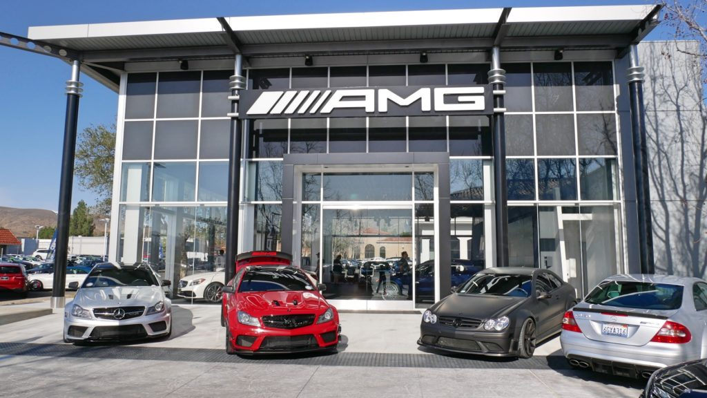 AMG Showroom Thousand Oaks