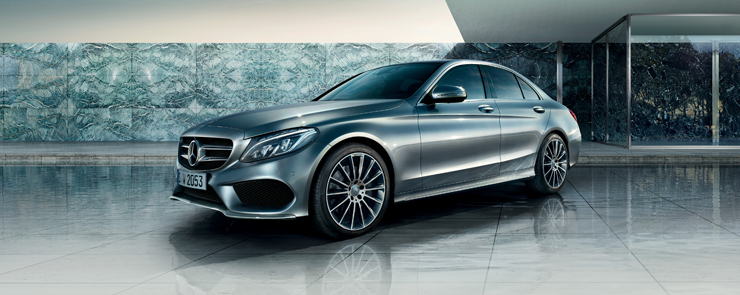 2017 MB C-Class Parked