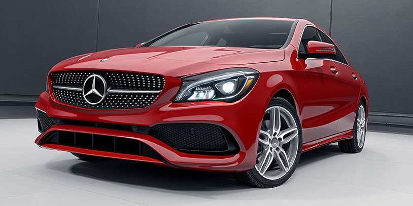 2017 MB C Class Red