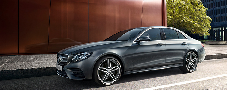 2017 MB E Class Parked